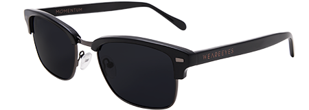 Momentum Black with Black Lenses