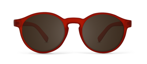 Orbit Red with Brown Lenses