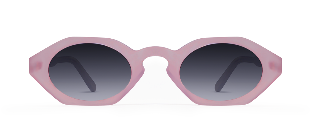Pixel Pink with Black Gradient Lenses
