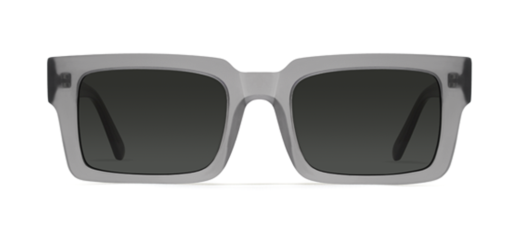 Qubit Grey with Black Lenses