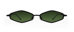 Theta 2.0 Black with Green Lenses