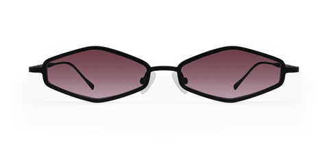 Theta 2.0 Black with Pink Lenses