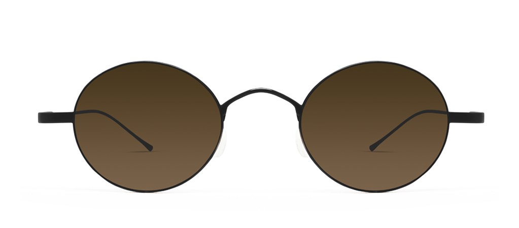 Titan 11S Black with Brown Lenses