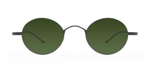 Titan 11S Gun Metal with Green Lenses