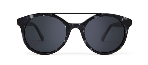 Vector Black Tortoise with Black Lenses