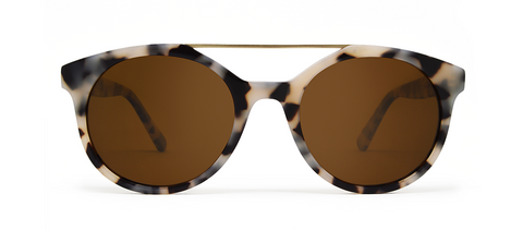Vector Crème Tortoise with Brown Lenses