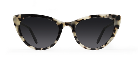 Ypsilon Creme Tortoise with Black Lenses
