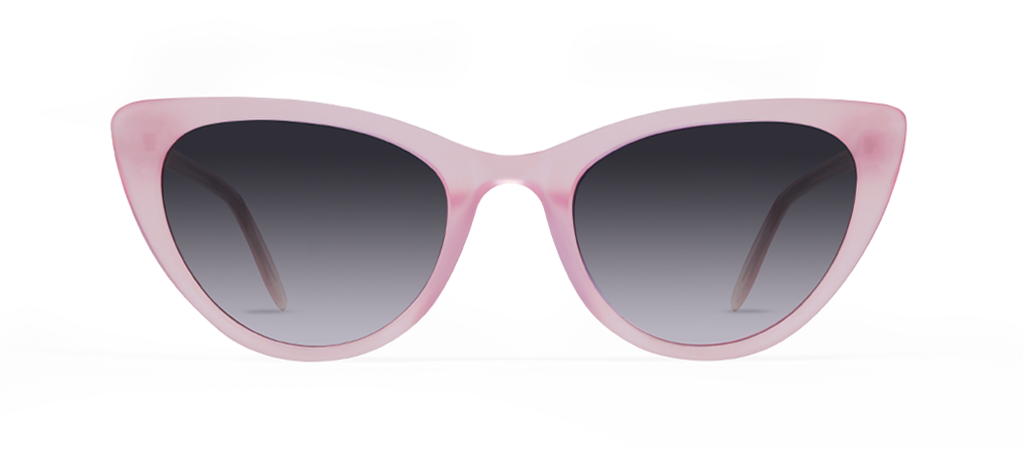 Ypsilon Pink with Black Gradient Lenses
