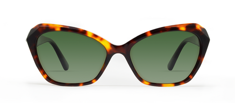 Zeta Crystal Tortoise with Green Lenses