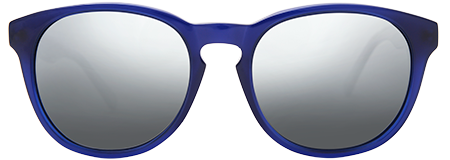 Gravity Blue with Grey Mirrored Lenses