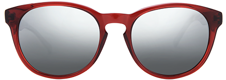 Gravity Red with Grey Mirrored Lenses