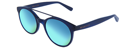 Vector Blue with Blue Mirrored Lenses