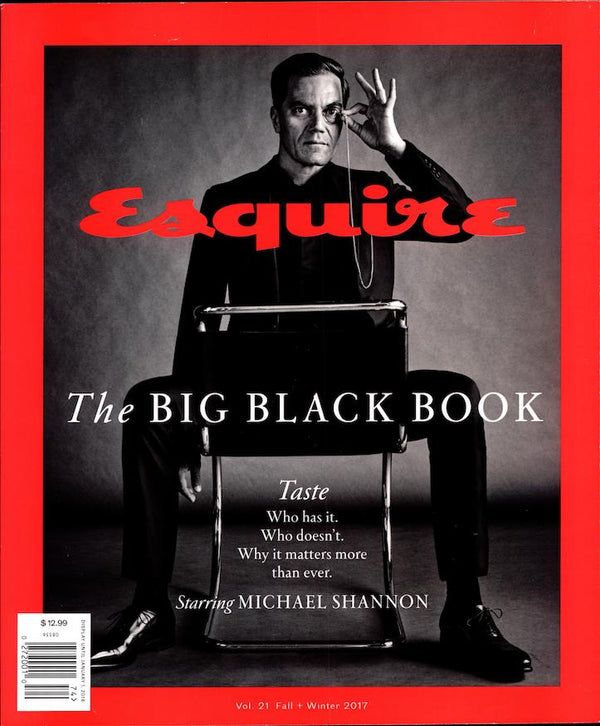 Esquire Big Black Book - Fall 2017 Cover of Esquire Magazine Big Black Book Fall 2017