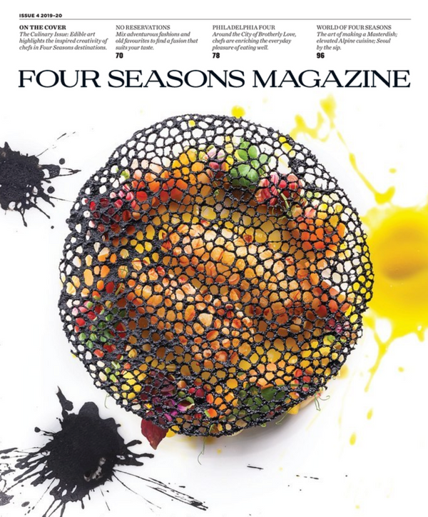 Four Seasons Magazine Issue 4 Four Seasons Holiday Magazine Cover