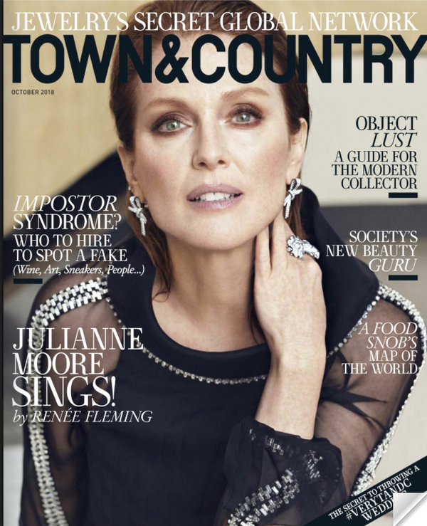 Town and Country - October 2018 Town & Country Magazine Cover Oct. 2018