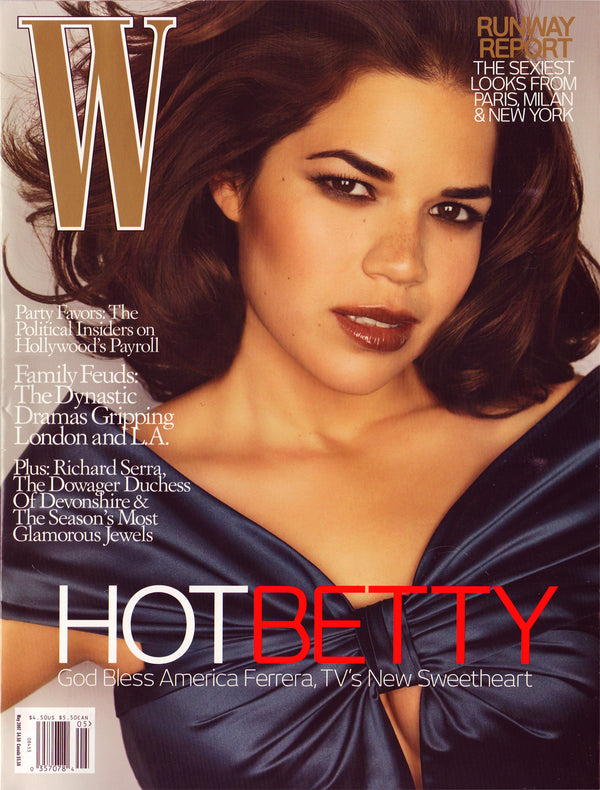 W Magazine - May 2007 May 2007 W magazine cover featuring America Ferrera
