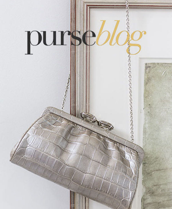 PurseBlog.com - May 2009 Mercury Crocodile Darby Scott Clutch