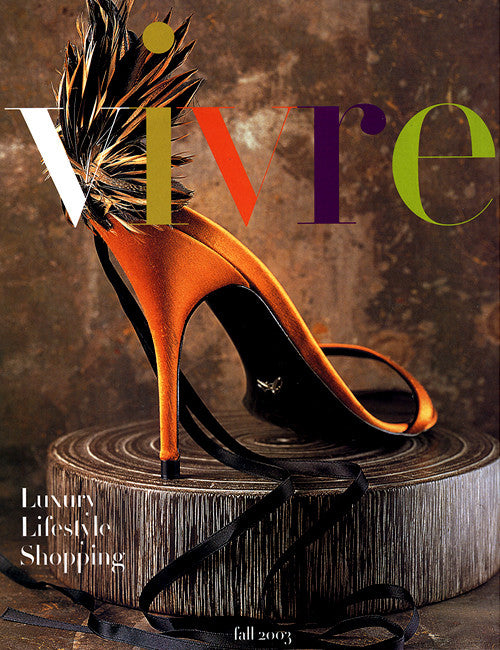 Vivre - Fall 2003 Vivre Magazine Cover from Fall 2003