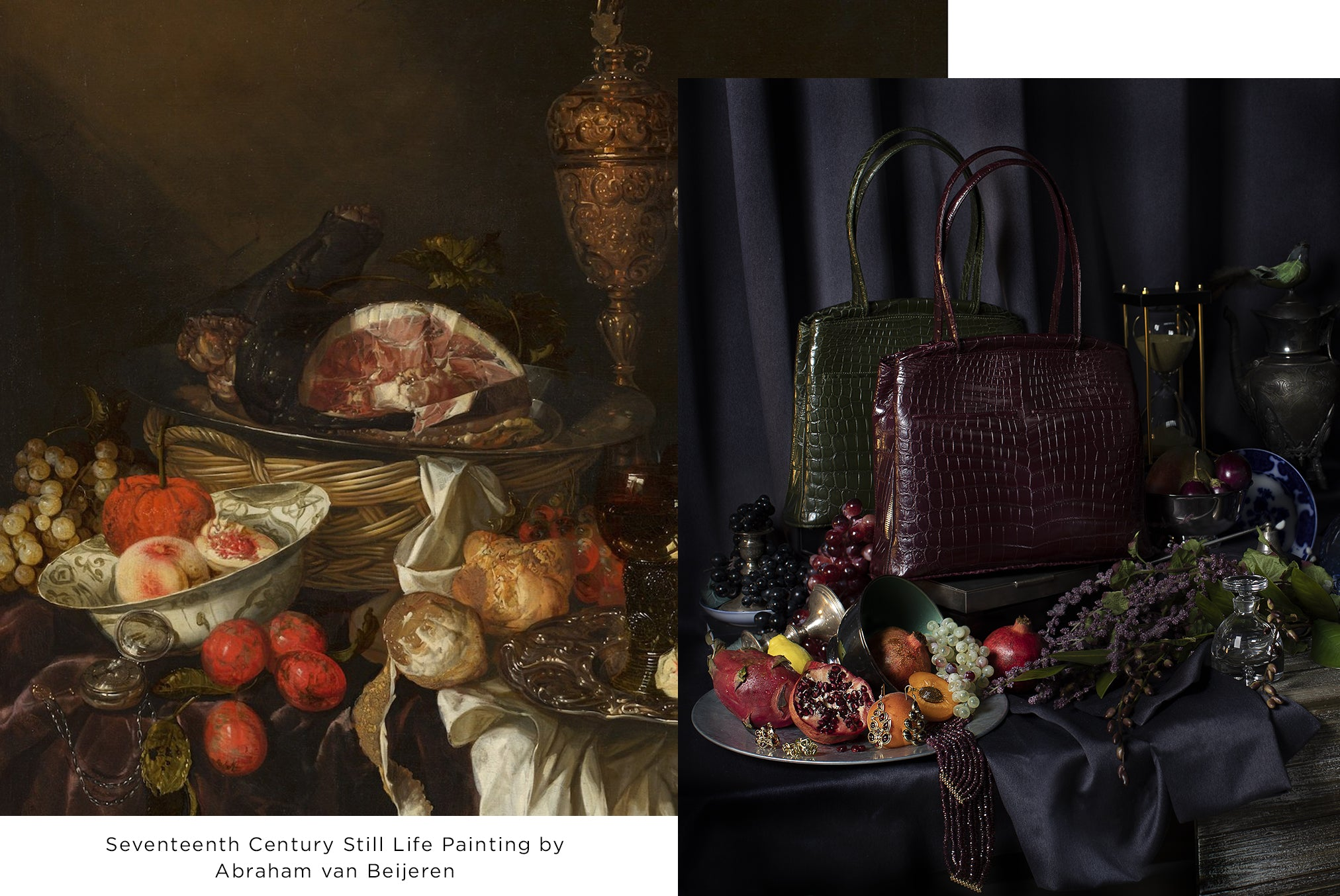 17th Century Still Life Painting by Abraham van Beijeren