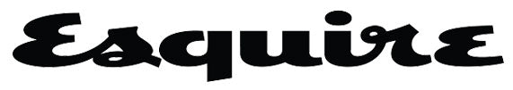 Esquire Magazine Logo in black and white