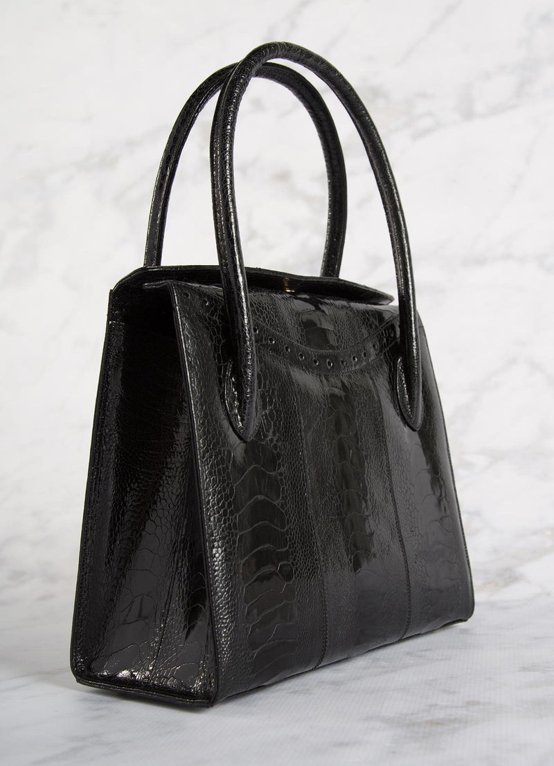 Back of Black Thompson Tote - Darby Scott