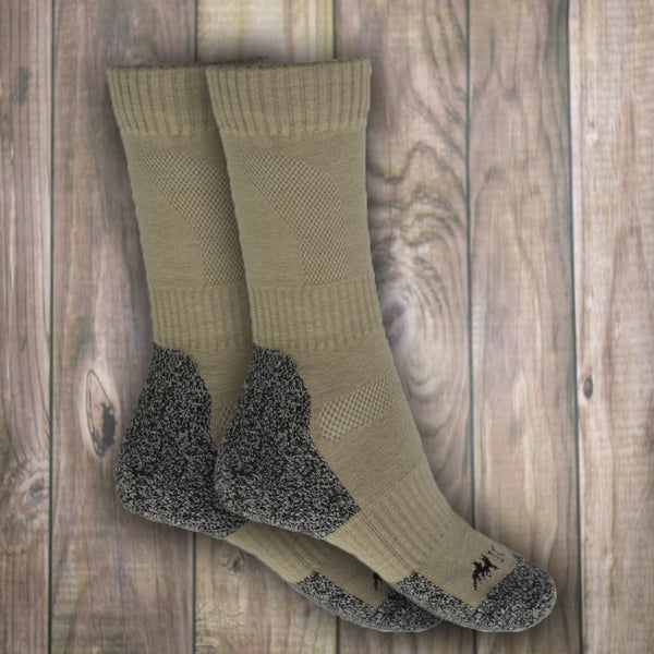 Wollsocken, 80% Wolle 2-er Pack