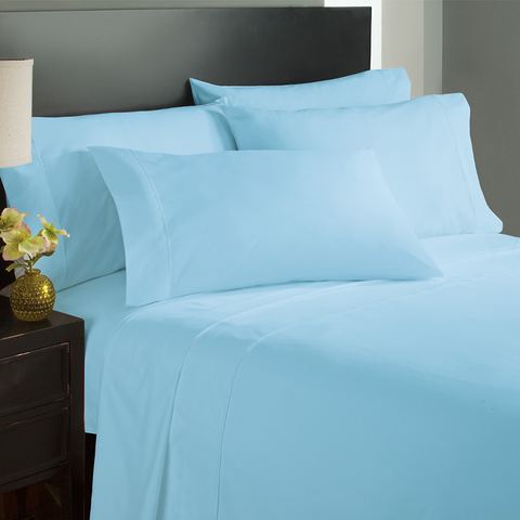 Aqua Pillow Case Set