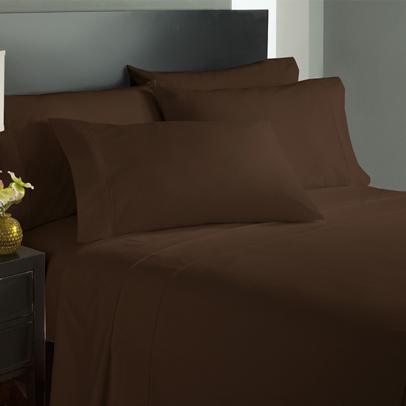 Chocolate Bed Sheets