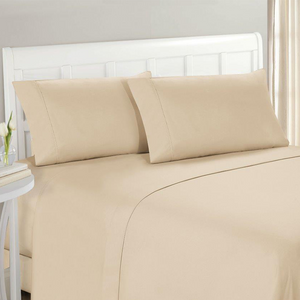 Light Cream Pillow Case Set