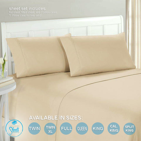 Light Cream Bed Sheets