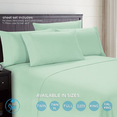 Mint Bed Sheets