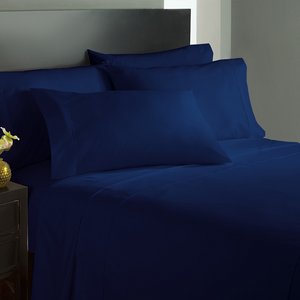 Navy Bed Sheets