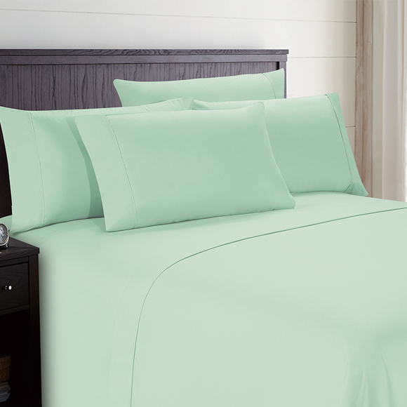 Mint Pillow Case Set