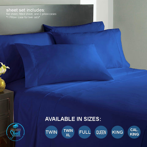 Royal Blue Sheets