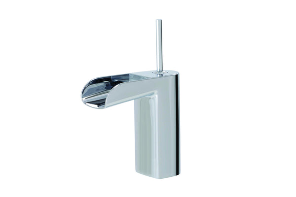 Love Me Aquabrass - Medium single hole lavatory faucet