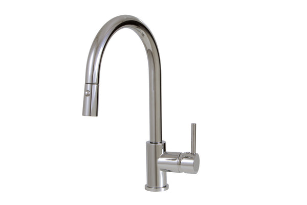 Studio Aquabrass -Two Pull-Down Dual Stream Mode Faucet