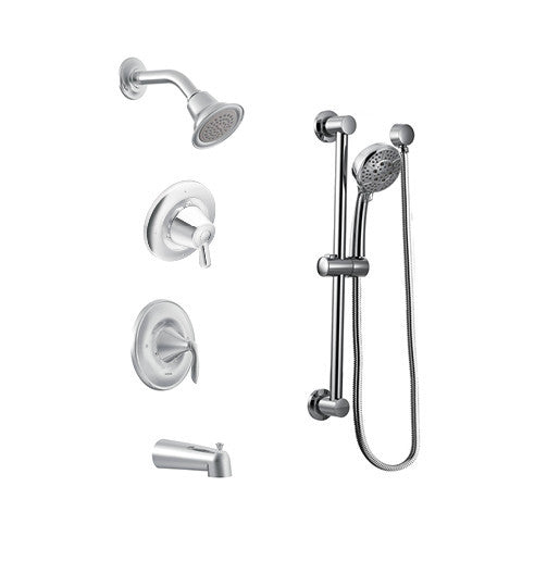 Eva Moen - Handheld Showerhead and Tub Spout