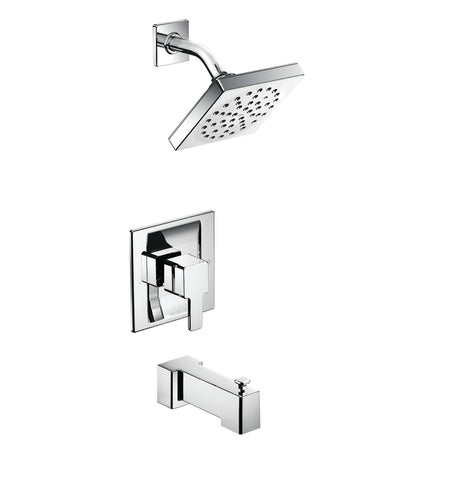 90 Degree Moen - Shower Head & Faucet