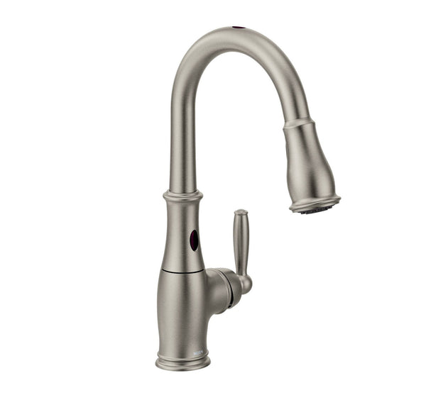 Brantford Moen - High-Arc Hands-Free with Pull-Down Spout