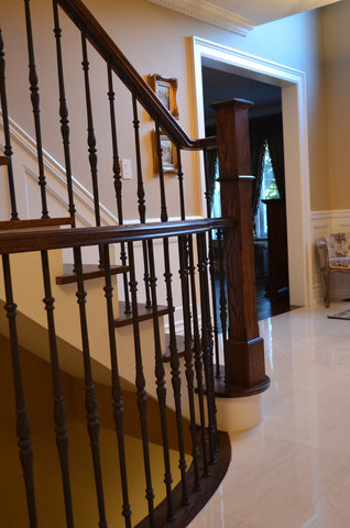 Stairs & Railings Ideal Railings - Wrought Iron and Wood