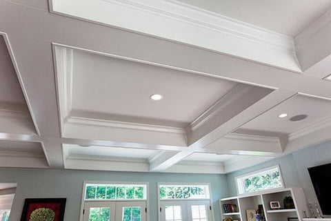 B Cornice Trim Ltd. - Waffle Ceiling Treatment