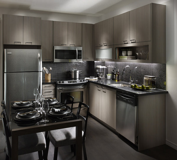 CONDO KITCHEN FEATURES by Paris Kitchens