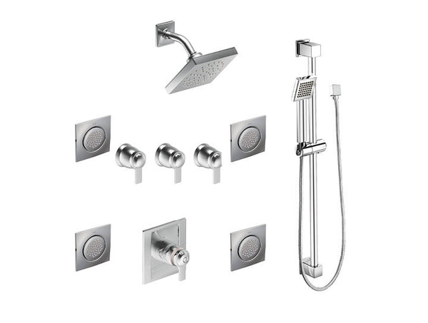 90 Degree Moen - Spa Set - Vertical