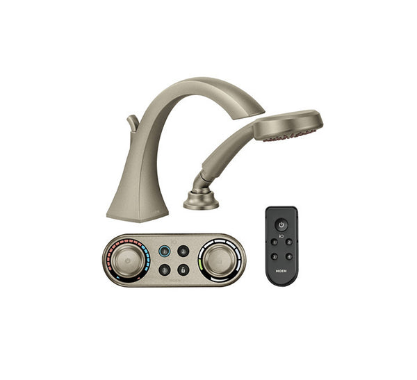 Voss Moen - IO Digital Roman Tub w/ Handheld Shower