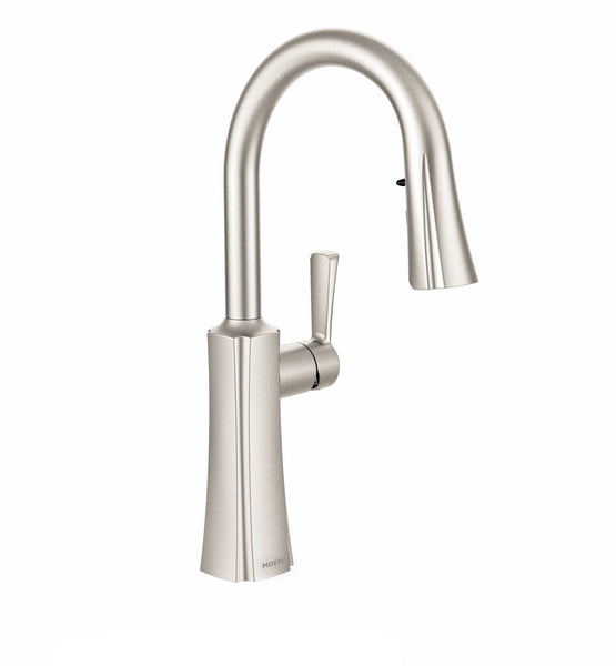 Etch Moen - Single Handle Kitchen Pull Down Faucet