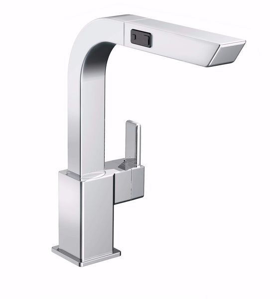 90 Degree Moen - Single Handle with Pull-Out Spout