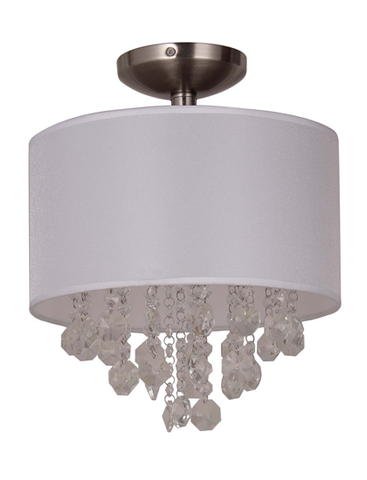 Savanna San Remo - Semi-Flush Mount (A90043-11)