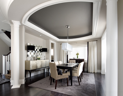 B Cornice Trim Ltd. - Coffered Ceiling Treatment