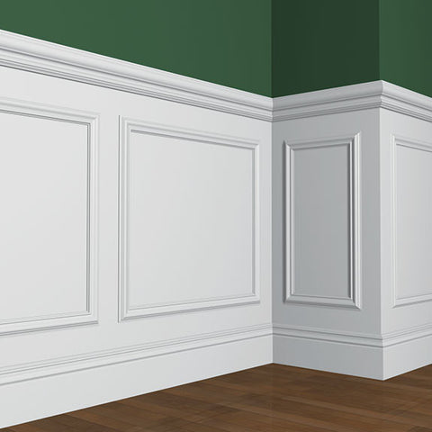 B - Chair Rail and Wainscotting