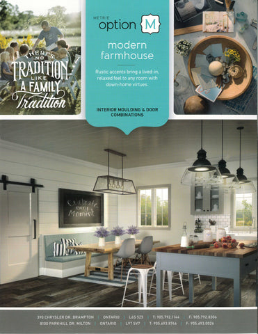 A Metrie - Modern Farmhouse Trim Selections